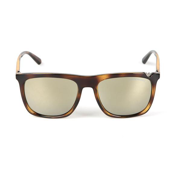 Emporio Armani Mens Brown EA4095 Sunglasses main image