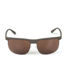 Emporio Armani Mens Grey EA4108 Sunglasses
