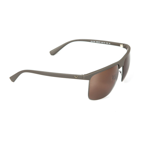 Emporio Armani Mens Grey EA4108 Sunglasses