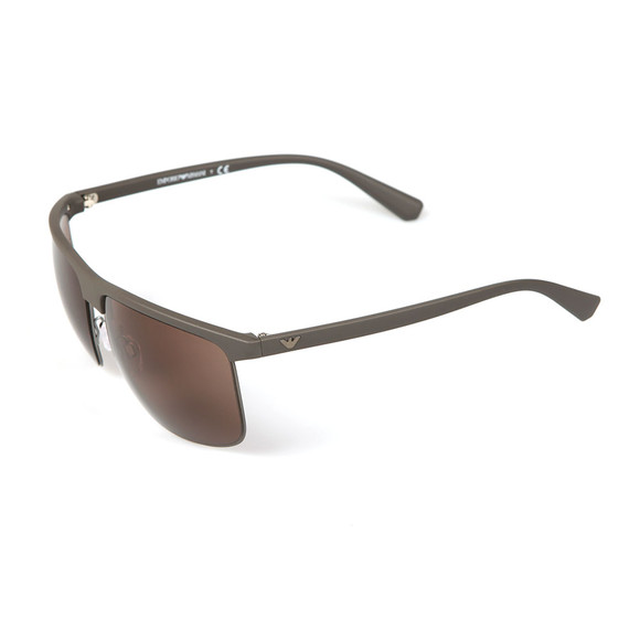 Emporio Armani Mens Grey EA4108 Sunglasses main image