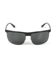 Emporio Armani Mens Black EA4108 Sunglasses