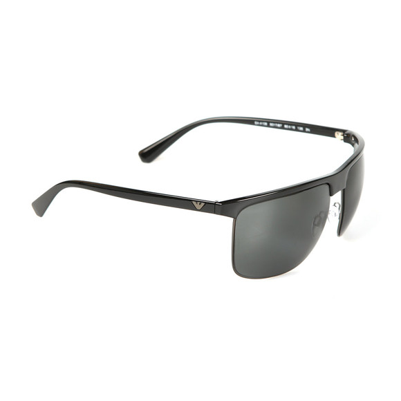 Emporio Armani Mens Black EA4108 Sunglasses main image