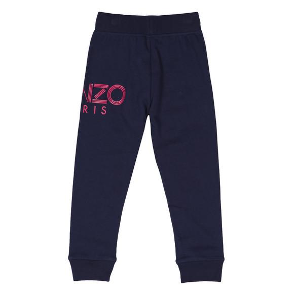 Kenzo Kids Girls Blue Side Logo Jogger