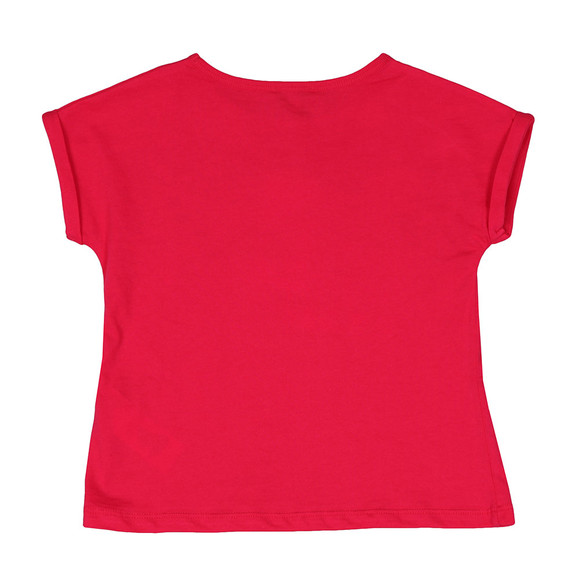 Kenzo Kids Girls Pink Tiger & Lion T-Shirt