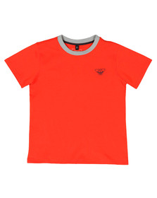 Armani Junior  Boys Orange 3Z4T11 Ringer T Shirt