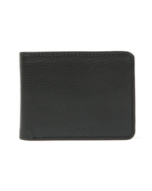 Gant Mens Black Leather Wallet