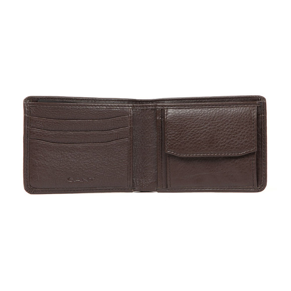 Gant Mens Brown Leather Wallet main image