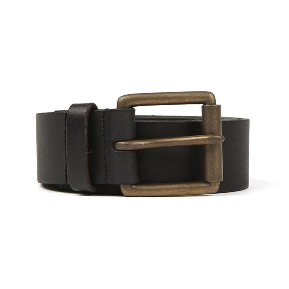 Superdry Mens Black Western Belt In A Box main image