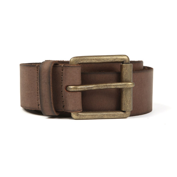 Superdry Mens Brown Western Belt In A Box main image
