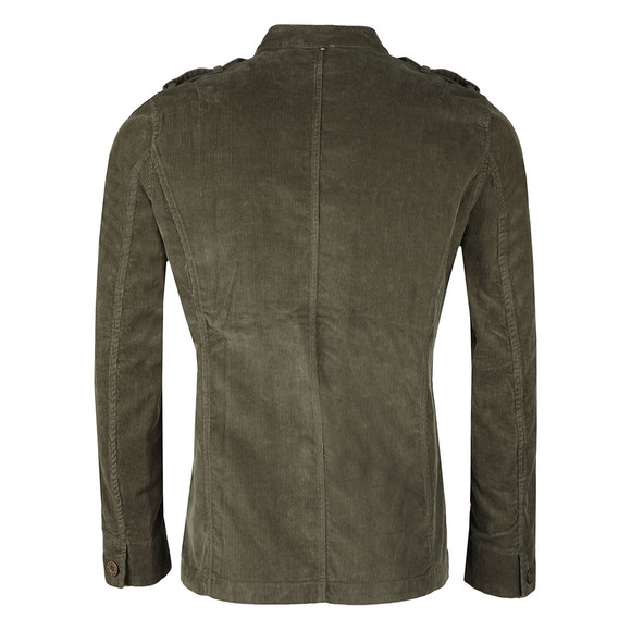 Pretty Green Mens Green Crawley Cord Jacket main image