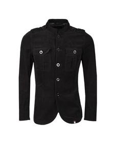 Pretty Green Mens Black Crawley Jacket
