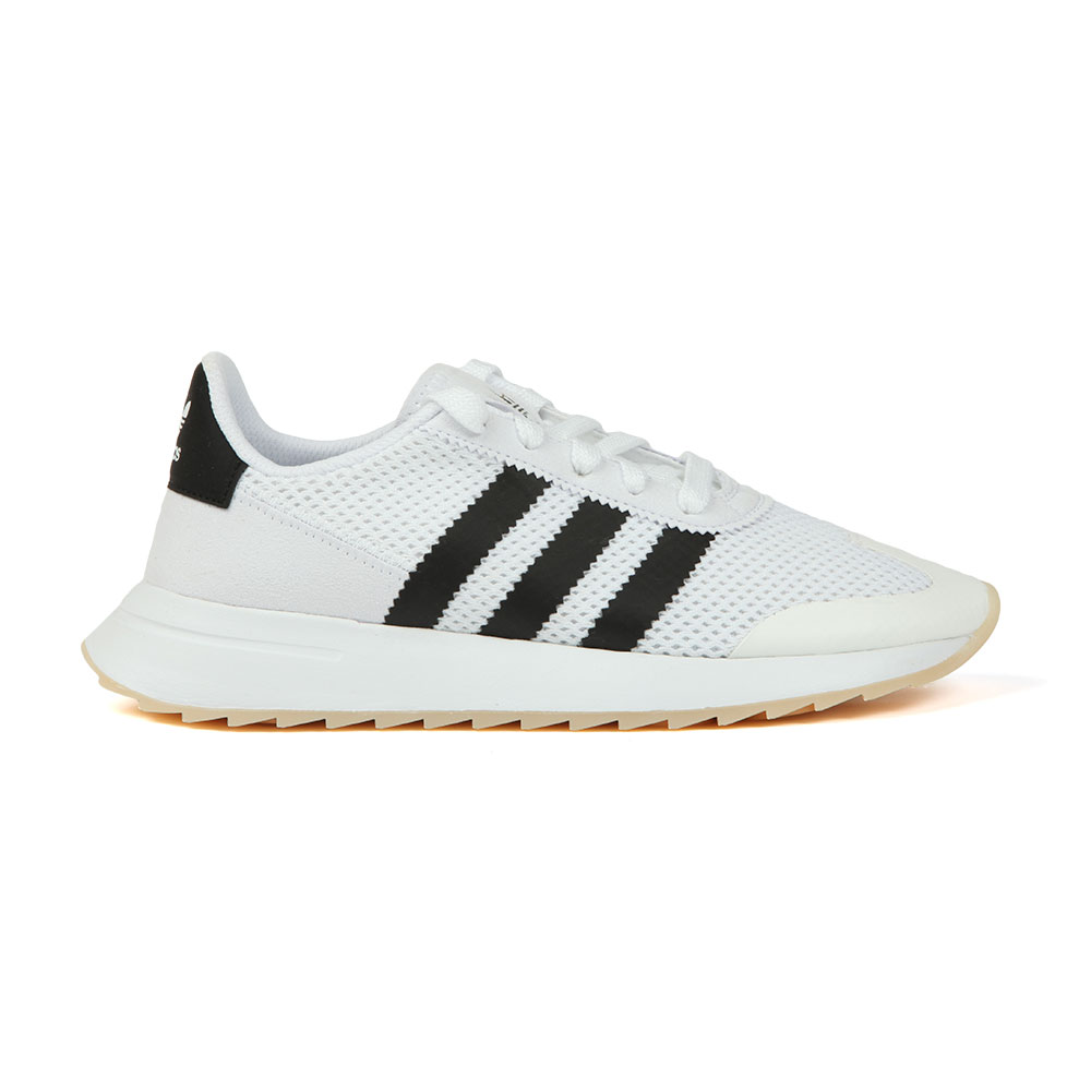 big sale c4cb7 d6d50 adidas Originals Womens White Flashback W Trainer