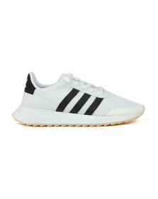 adidas Originals Womens White Flashback W Trainer