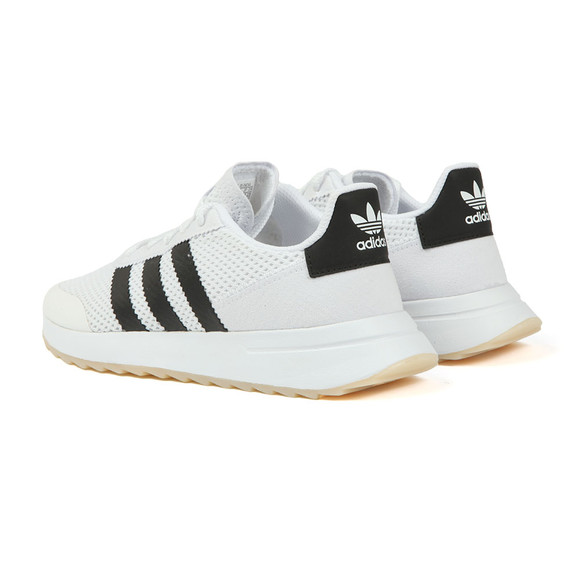 Adidas Originals Womens White Flashback W Trainer main image