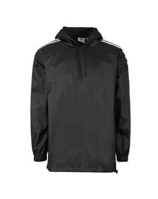 Adidas Originals Mens Black Poncho Windbreaker