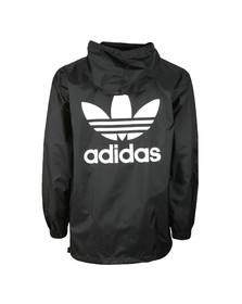 Adidas Originals Mens Black Poncho Windbreaker