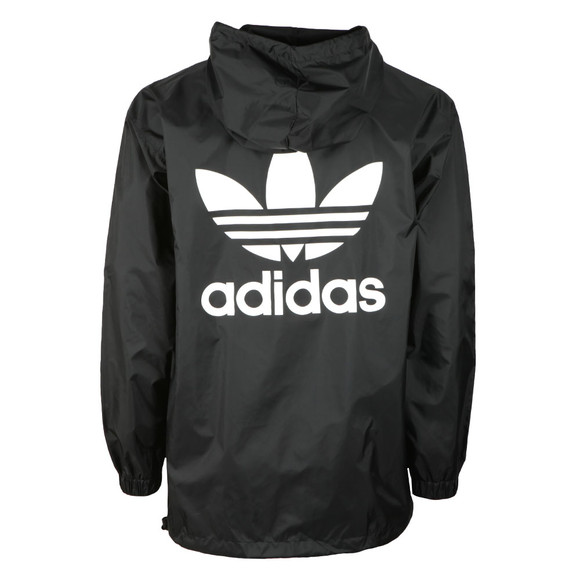 Adidas Originals Mens Black Poncho Windbreaker main image