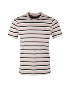 Farah Mens Red S/S Multi Crew Tee