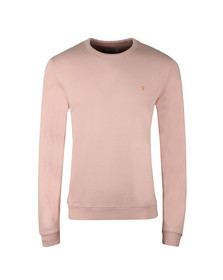 Farah Mens Pink Pickwell Sweat
