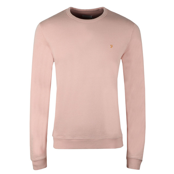 Farah Mens Pink Pickwell Sweat main image