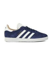Adidas Originals Womens Blue Gazelle OG W Trainer