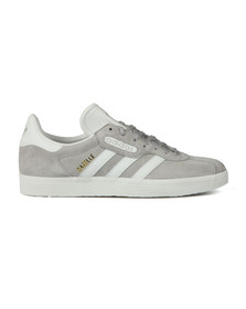 Adidas Originals Mens Grey Gazelle Super Essential Trainer