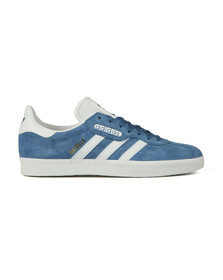 Adidas Originals Mens Blue Gazelle Super Essential Trainer