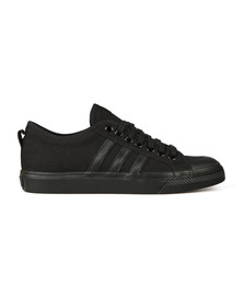 Adidas Originals Mens Black Nizza Trainer