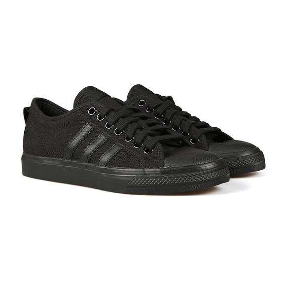 adidas Originals Mens Black Nizza Trainer main image