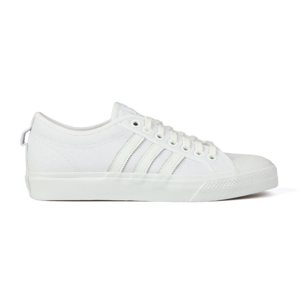 promo code 92db1 7a852 adidas Originals Mens White Nizza Trainer