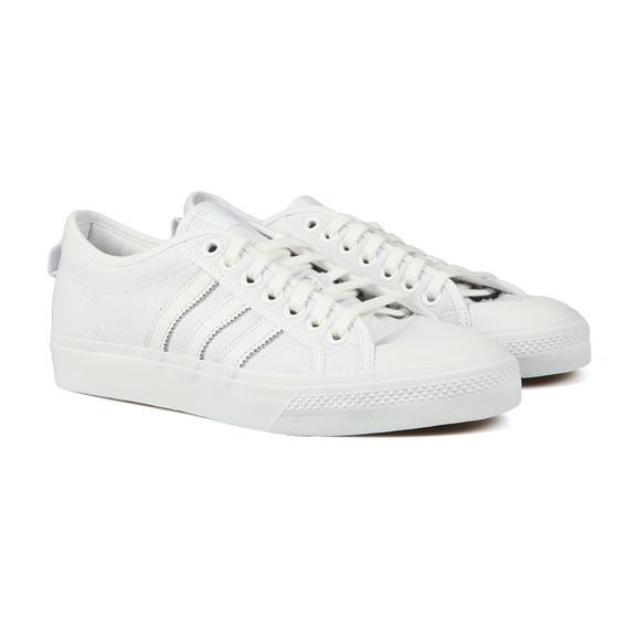 adidas Originals Mens White Nizza Trainer main image