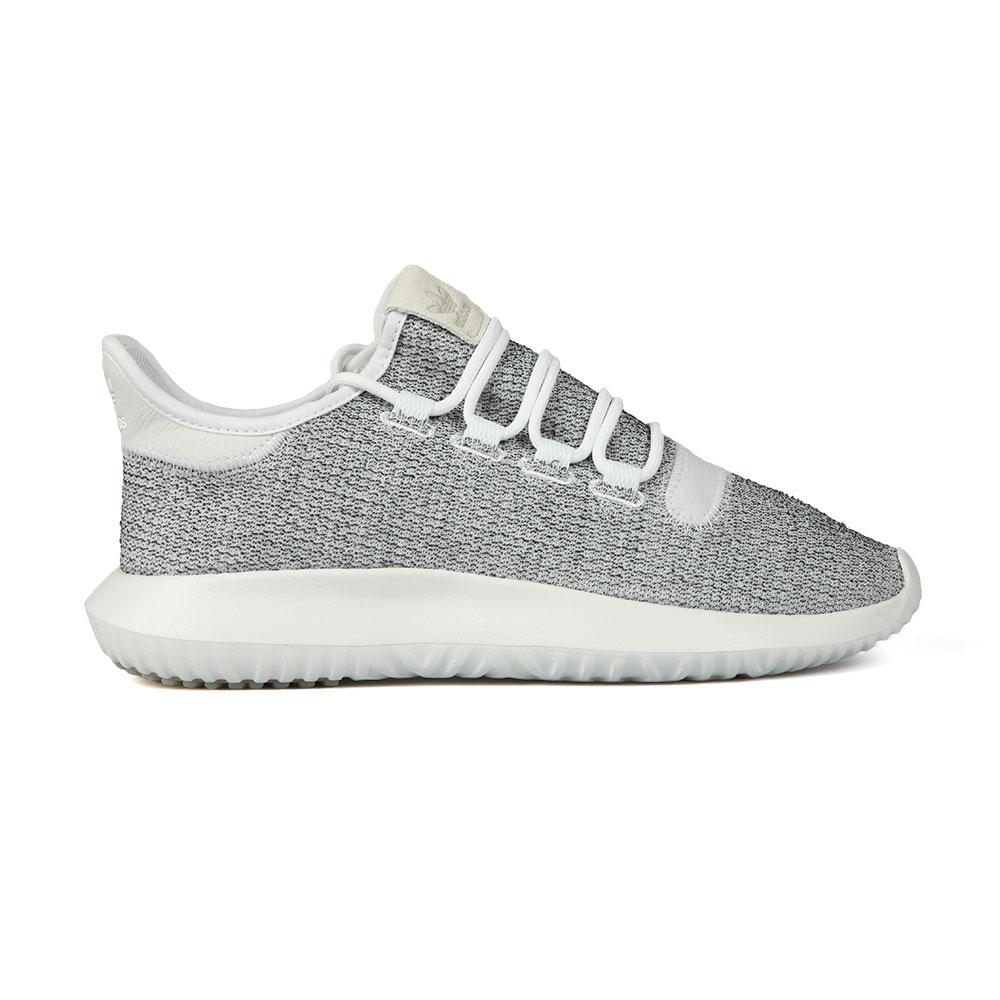 6face7de712d4 adidas Originals Mens White Tubular Shadow Trainer
