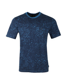 PS Paul Smith Mens Blue S/S Print Tee