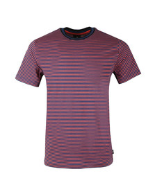 PS Paul Smith Mens Blue S/S Stripe Tee