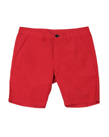 PS Paul Smith Mens Red Standard Fit Chino Short
