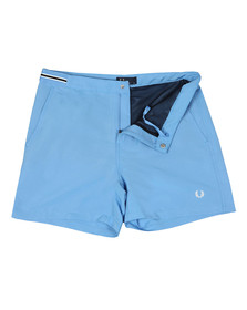Fred Perry Mens Blue S1502 Swim Shorts