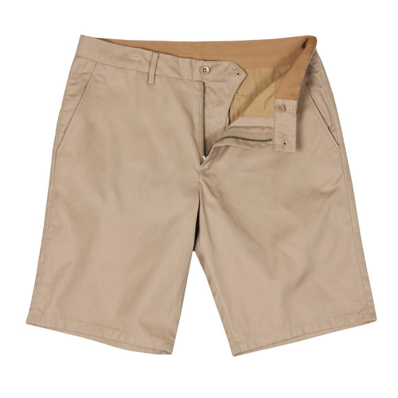 Fred Perry Mens Beige Classic Chino Short