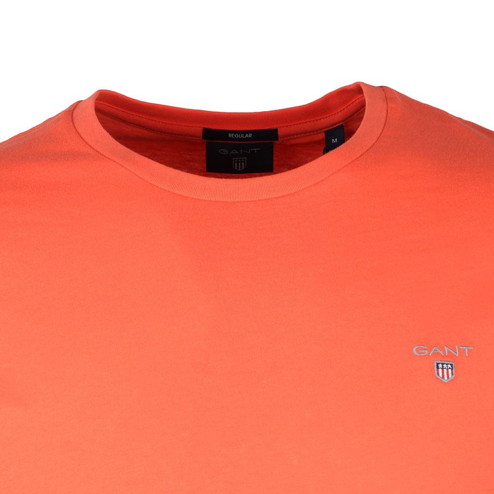 förhandsvisning av klassisk kupongkoder Gant Solid Crew Neck T-Shirt | Masdings
