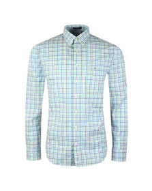 Gant Mens Turquoise L/S Broadcloth 3 Col Shirt