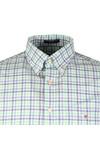 Gant Mens Turquoise L/S Broadcloth 3 Col Shirt