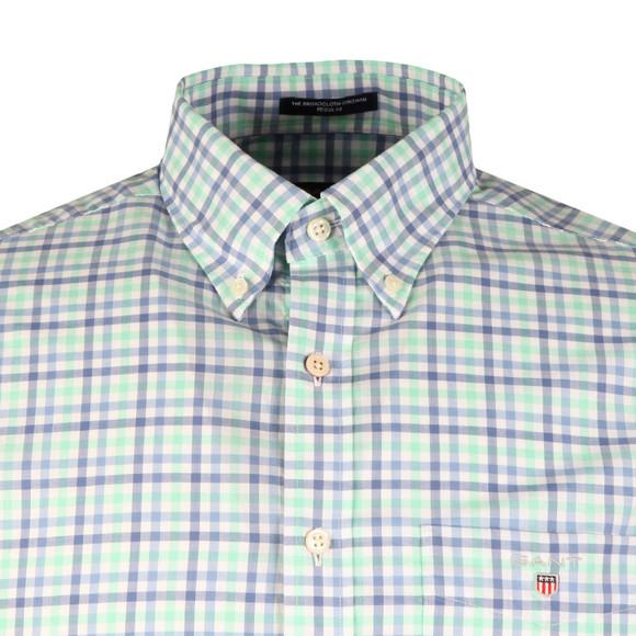 Gant Mens Turquoise L/S Broadcloth 3 Col Shirt main image