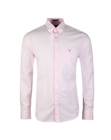 Gant Mens Pink L/S Broadcloth Banker Shirt