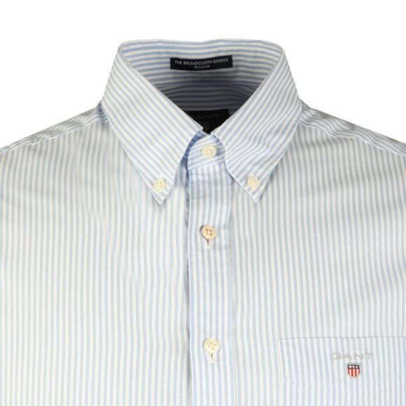 Gant Mens Blue L/S Broadcloth Banker Shirt main image