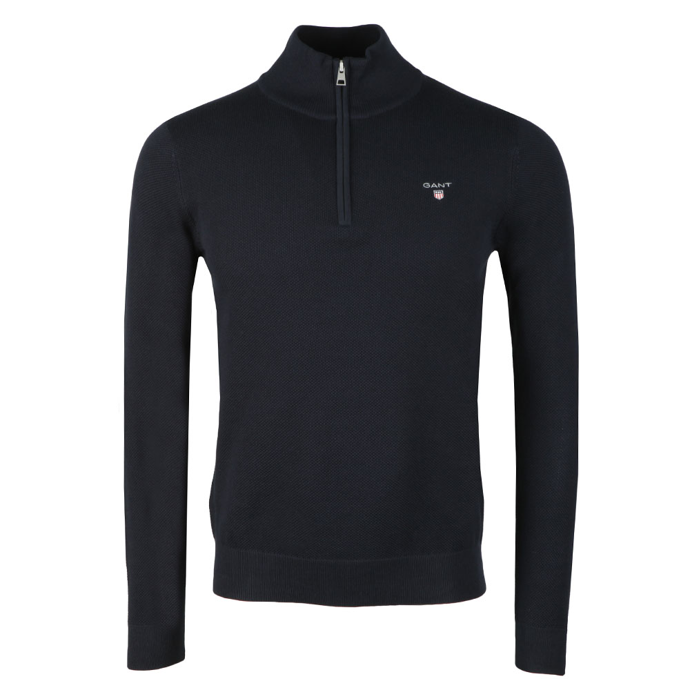 Cotton Pique Half Zip Jumper main image