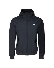 Fred Perry Mens Blue Hooded Brentham Jacket