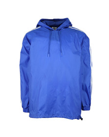Adidas Originals Mens Blue Poncho Windbreaker