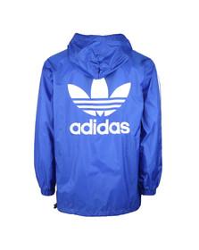 Adidas Originals Mens Blue Poncho Windbreaker