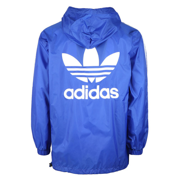 Adidas Originals Mens Blue Poncho Windbreaker main image