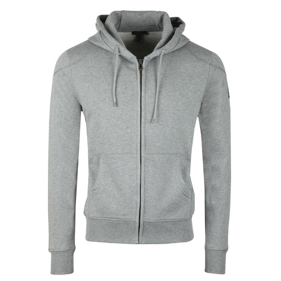 Belstaff Mens Grey Wentworth Full Zip Hoody main image