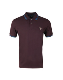 PS Paul Smith Mens Red S/S Tipped Polo